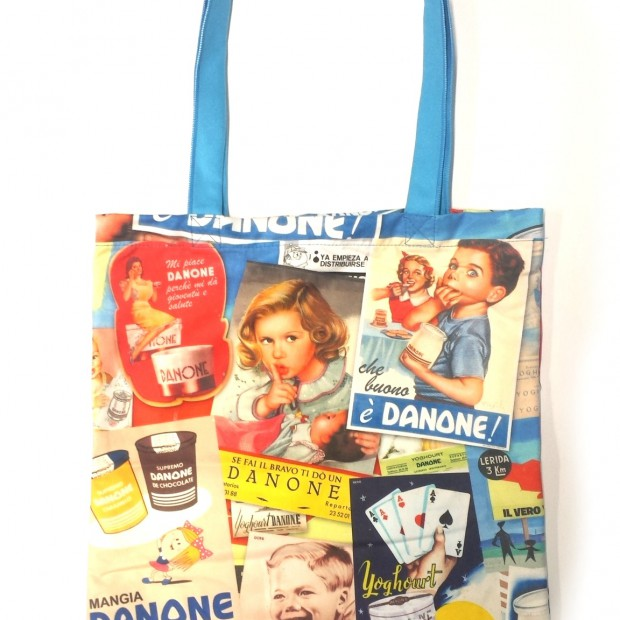 SHOPPER IN MICROFIBRA DANONE